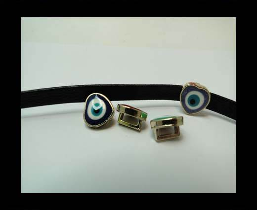 Zamak part for leather CA-4821-5*3mm-ROSE GOLD