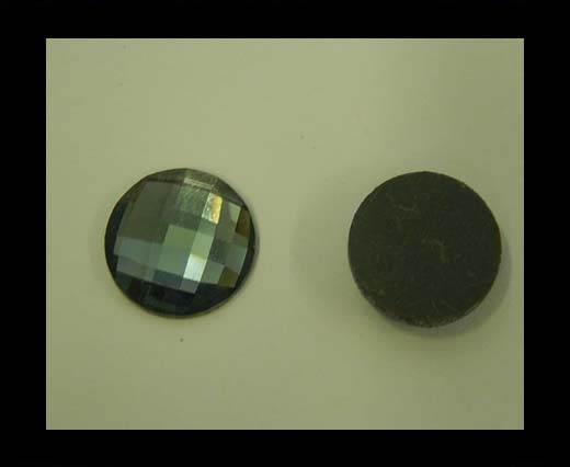 zamak charm CA-4838-12mm-Black Diamond