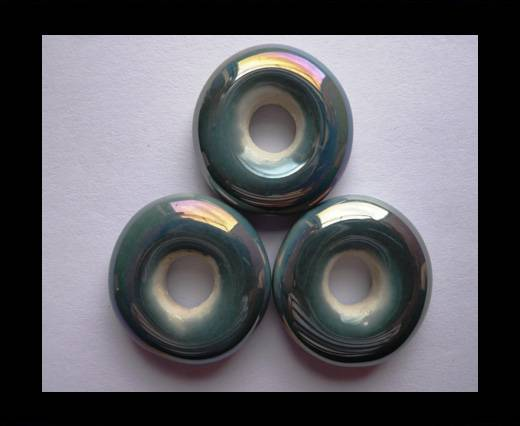 Buy CB-Ceramic Flower-Small Donuts-Light Grey AB at wholesale prices