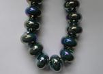 Ceramic Beads -Dark Blue-AB