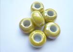 Ceramic Beads -Yellow-AB