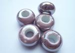 Ceramic Beads -Purple-AB