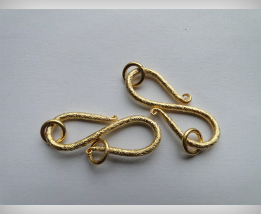 Hook Clasp SE-2194 - Gold Plated