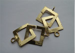 Gold Plated Toggle Clasp - SE-2205