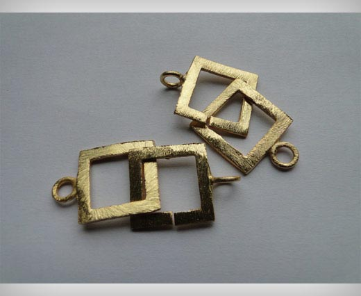 Gold Plated Toggle Clasp - SE-2206