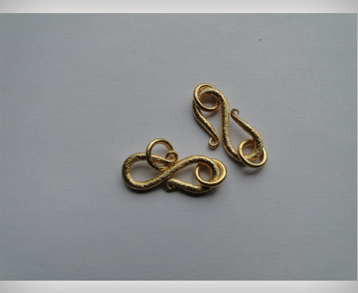 Hook Clasp SE-2207 - Gold Plated