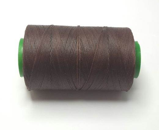 0.8mm-Nylon-Waxed-Thread-Coffee brown 9019