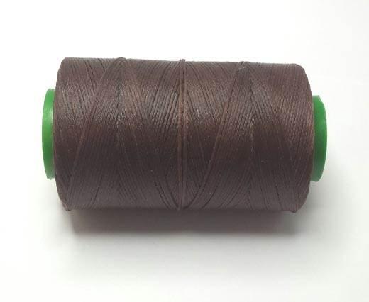 1.2mm-Nylon-Waxed-Thread-Coffee brown 9019