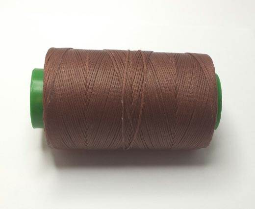 1mm-Nylon-Waxed-Thread-Cognac Dark 9083