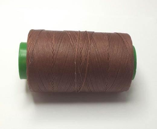 1.2mm-Nylon-Waxed-Thread-Cognac Dark 9083