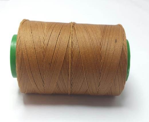 0.8mm-Nylon-Waxed-Thread-Cognac light 800