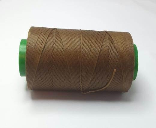 0.8mm-Nylon-Waxed-Thread-Cognac Medium 742