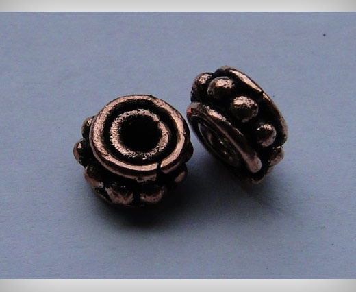 Buy Copper Antique Small Sized Beads SE-1752 at wholesale prices