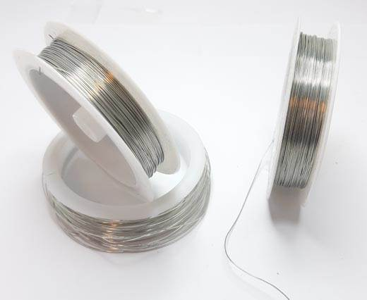 Copper wire 0.4mm - Silver