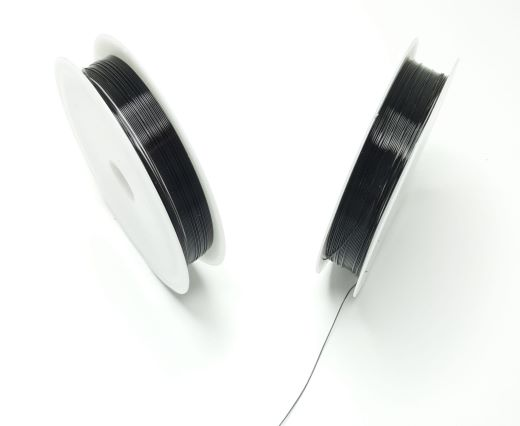 Copper wire 0.4mm - Black