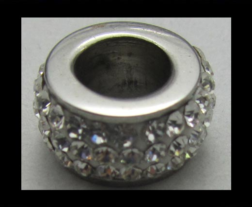 Crystal  Big Hole Beads CA-4235