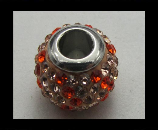 Crystal  Big Hole Beads CA-4237