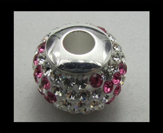 Crystal  Big Hole Beads CA-4240