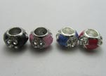 Crystal Big Hole Beads CA-4151