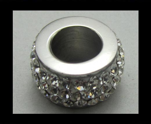 Crystal Big Hole Beads CA-4238