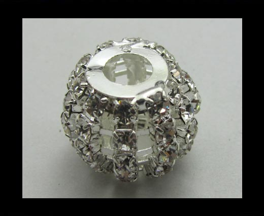 Crystal Big Hole Beads CA-4160