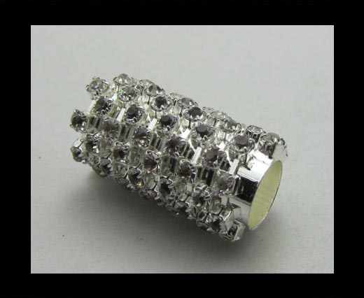Crystal Big Hole Beads CA-4162