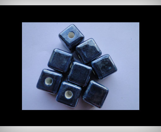 Cube-10mm-Dark Blue