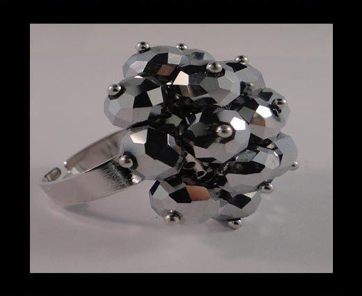 GBJ-Ring-Metallic Grey