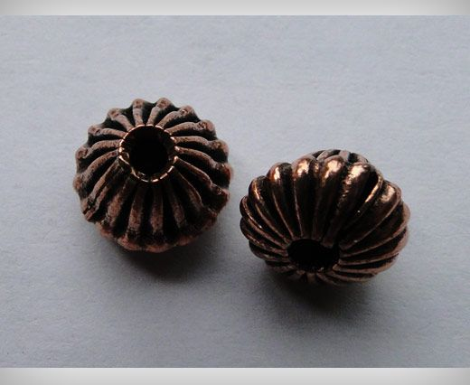 Antique Copper Small Sized Beads