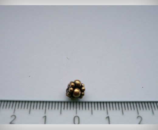 SE-1779-Antique Gold Small Sized Beads