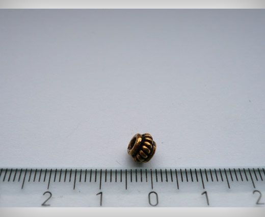 SE-1808-Antique Gold Small Sized Beads