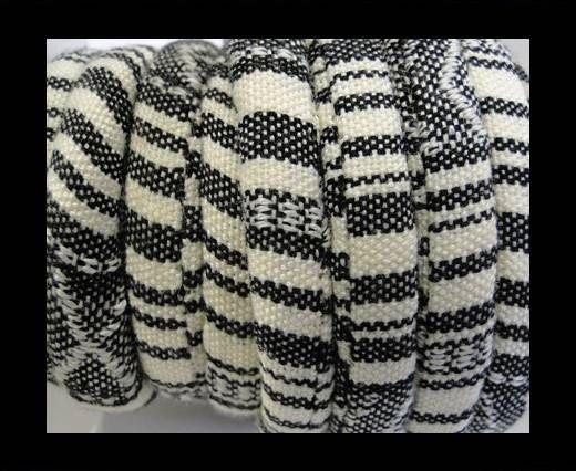 Bulgy Fabric Cord-10mm-cream