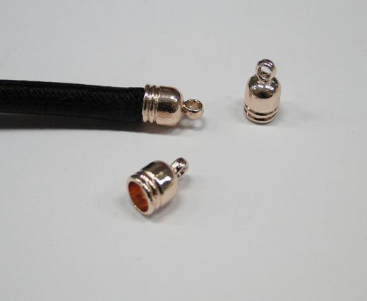 CA-4754-Rose gold-Zamac parts for leather