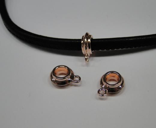 CA-4760-Rose gold-Zamac parts for leather
