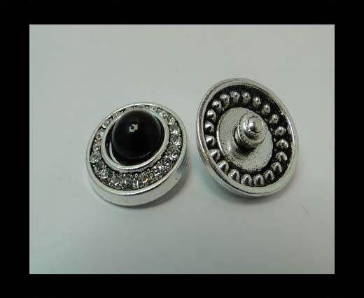 zamak charm CA-4793-20mm-BLACK