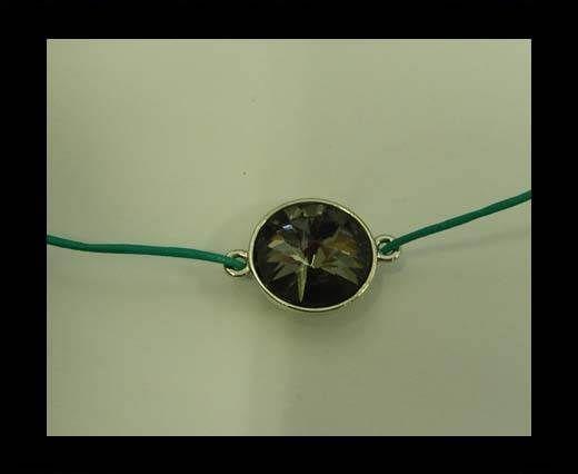 zamak charm CA-4835-16mm-Black Diamond