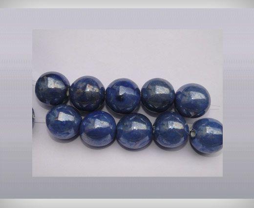Ceramic Beads-16mm-Blue