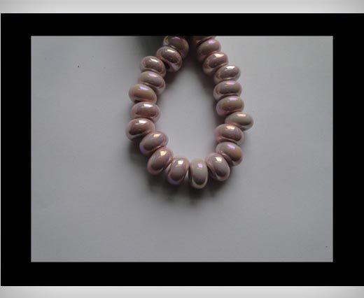 Ceramic Beads -Pink-AB