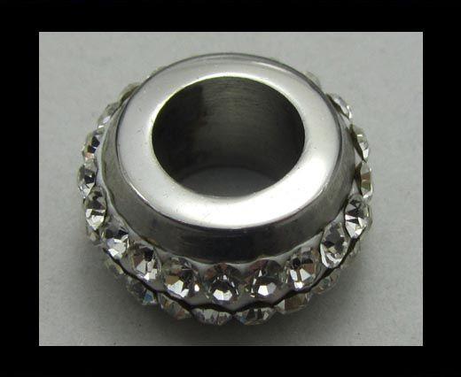 Crystal Big Hole Beads CA-4228
