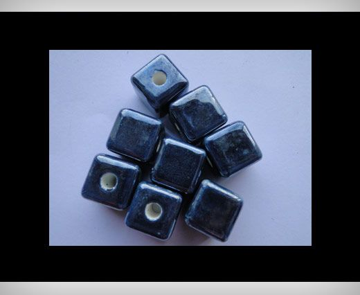 Cube-14mm-Dark Blue
