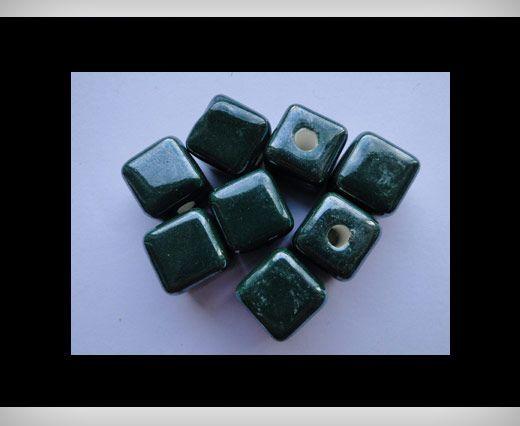 Cube-14mm-Green
