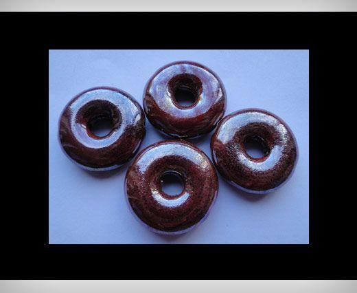 Donut-27mm-Maroon