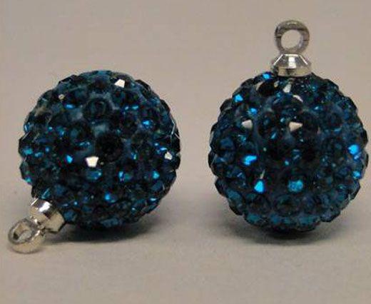 Shamballa-Crystal-Hanger-8mm-Blue Zircan