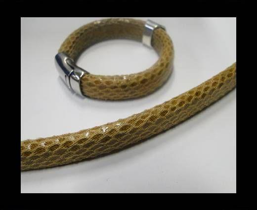Eco Regaliz-Leather-Snake Style-Light Brown