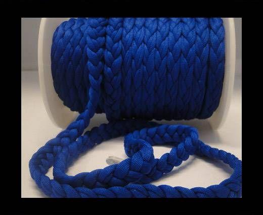 Fabric braided cord-8mm-Blue