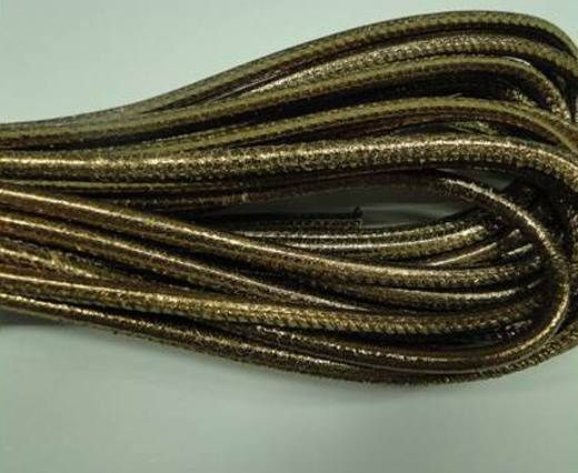 Fine Nappa-Plain-style -Dark Rose Gold-4mm