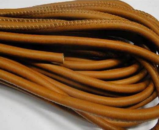 Fine Nappa-Plain-style -Light Brown-6mm