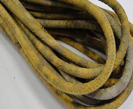 Fine Nappa-Snake-style-Grey-Beige-6mm