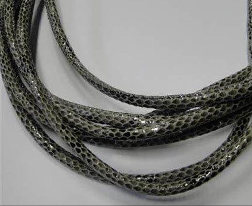 Fine Nappa-Snake-style-Version 1-Grey-4mm