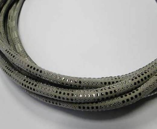 Fine Nappa-Snake-style -Version2-Grey-6mm